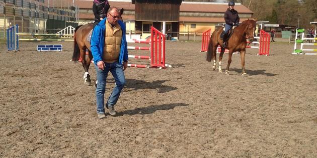 Beim Springlehrgang des Reit- und Fahrverein Riedrode konnten die Teilnehmer viel Wissenswertes erfahren. Foto: oh