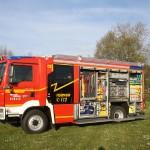 Das neue Hilfeleistungslöschfahrzeug der Freiwilligen Feuerwehr Biblis ist technisch auf dem neuesten Stand. Foto: oh