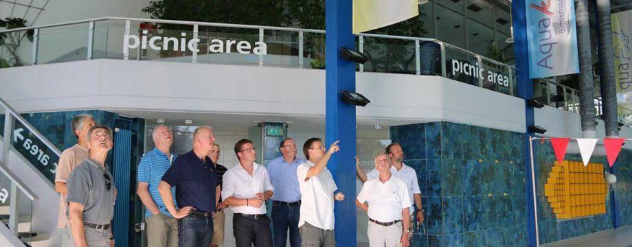 CDU-Sommertour zu den Biedensandbädern