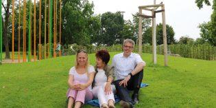 Landrat Engelhardt bei Sommertour beeindruckt von Angeboten im Ried