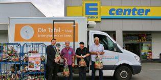Tafel-Aktion mit 77 vollen Spendentüten ein Rekord