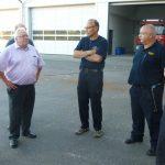 SPD-Fraktion auf Info-Tour bei der Feuerwehr Lorsch