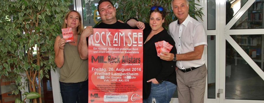 MIL Rock Allstars und Special Guests rocken am See