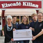 Eiscafé Kilian feierte Saisonabschluss