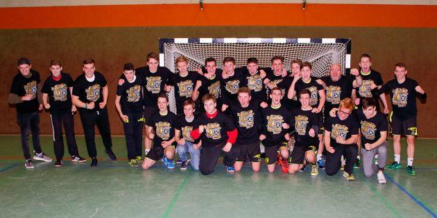 B-Jugendhandballer sind Meister der Bezirksoberliga