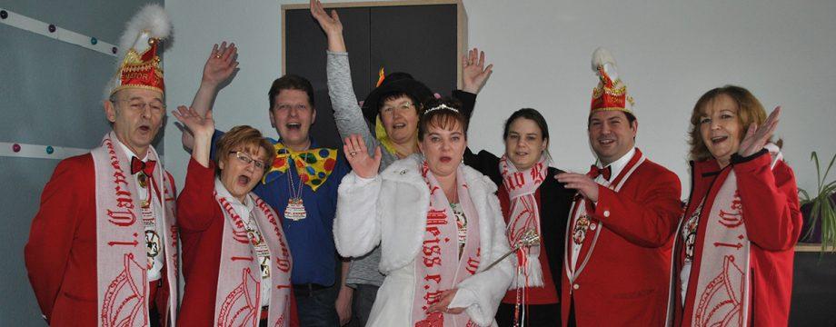 Stadtprinzessin Christiane II. zu Besuch beim TIP-Verlag