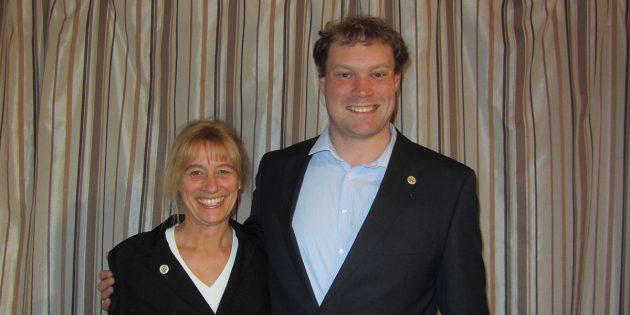 Außergewöhnliche Ehre für Michael Thürauf und Heike Grosse