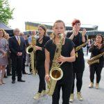 Nach der sonnigen Einstimmung mit Musik vor dem Rathaus kam der Festakt zur 1250-Jahrfeier im großen Saal des Bürgerhauses. Foto: Hannelore Nowacki