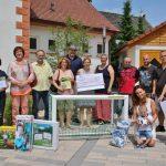 Für große Freude bei den Spendenempfängern sorgte die Gewerbevereinigung Bobstadt, die jeweils Sachspenden oder einen Gutschein im Wert von 400 Euro erhielten – insgesamt 2.000 Euro. Foto: Hannelore Nowacki