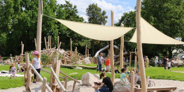 Spaß und Freude für jedes Alter – so präsentiert sich die offene alla hopp!-Anlage in Bürstadt den Besuchern täglich. Archivfoto: Hannelore Nowacki