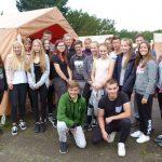 Verbrachten schöne Tage an der Ostsee: Die Jugendlichen aus dem Dekanat Ried. Foto: oh