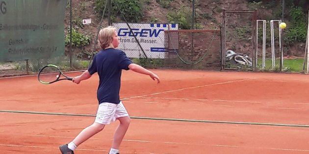 Maximilian Zacharias-Langhans kämpft für die U14. Foto: oh