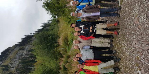 BUZ: 14 Teilnehmer waren bei der diesjährigen Adventure-Tour der KAB Biblis dabei. Foto: oh