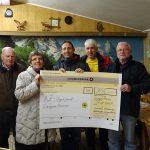 AZ-Vogelpark Lampertheim freut sich über Spende
