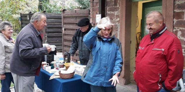 BUZ: Zum ersten Mal fand der Tag des offenen Pfarrgartens in Wattenheim statt. Foto: oh