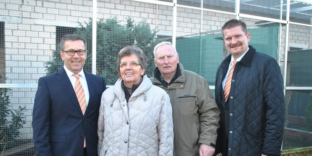 Großartige Unterstützung durch Volksbank für Lampertheims gefiederte Freunde