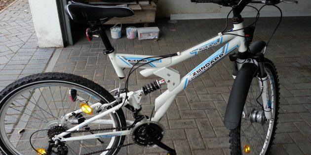 Wer vermisst sein weißes Mountainbike der Marke Zündapp?