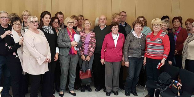 Die Frauen Union besuchte den hessischen Landtag in Wiesbaden. Foto: oh