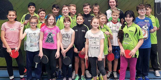Rege Beteiligung und viel Spaß bei den Hüttenfelder Nachwuchs-/Mini-Meisterschaften. Foto: ehr
