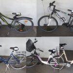 Eine Übersicht sichergestellter Räder. Foto: Polizeipräsidium Südhessen