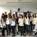 Insgesamt 13 Kollegen der städtischen Einrichtungen nahmen an der dreitägigen Fortbildung mit jeweils sieben Zeitstunden teil. Foto: oh