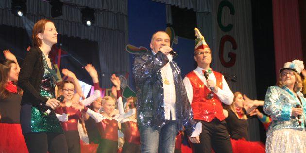 Mit einem abwechslungsreichen Programm begeisterte das Carnevalgremium des TV Lampertheim auch in diesem Jahr sein Publikum. Foto: Eva Wiegand