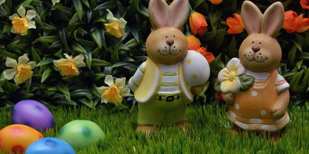Im Zeichen der Ostereier und des Frühlings