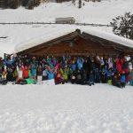 Die LGL-Schüler hatten viel Freude bei ihre besonderen Klassenfahrt in den Schnee. Foto: oh