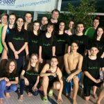 Präsentierten sich in guter Form: Die Schwimmerinnen und Schwimmer der SG Neptun Lampertheim. Foto: oh