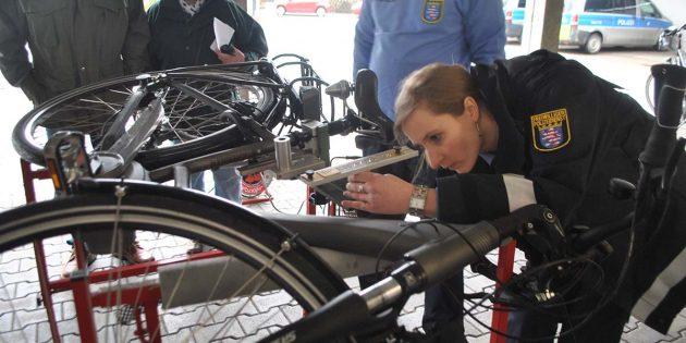 Fahrraddieben zuvorkommen