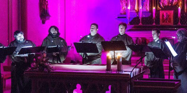"""20.03.2018 Biblis  seried /  Kath. Kirche Konzert mit """"Gregorian Voices"""""""