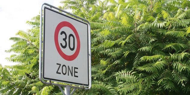 30 km/h-Regelung in der Eugen-Schreiber-Straße