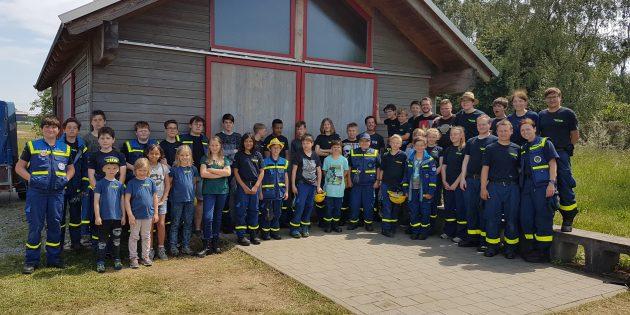 BUZ: Beim Pfingstlager der Jugendgruppen Darmstadt und Heppenheim wurden viele neue Freundschaften geschlossen. Foto: oh