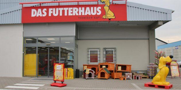 DAS FUTTERHAUS Lampertheim in der Otto-Hahn-Straße 18 feiert am 25. und 26. Mai sein 10-jähriges Jubiläum mit 20 Prozent Rabatt auf den gesamten Einkauf und vielen tollen Aktionen am 26. Mai. Foto: Hannelore Nowacki