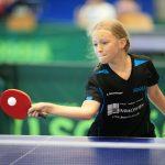 Sophie Rosenberger spielte sich nach Platz 2 im Bezirk auf Platz 5 in Hessen. Foto: oh