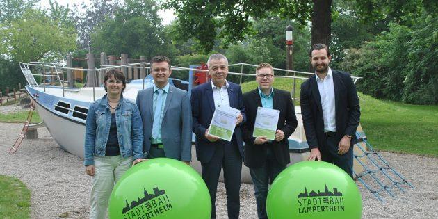 Stadtumbau Lampertheim startet
