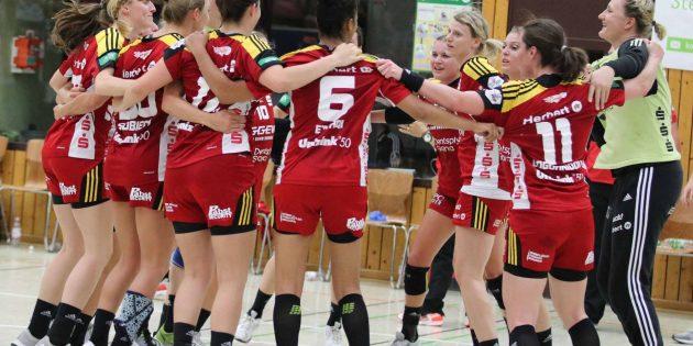 BUZ: Die Flames wollen auch in der kommenden Saison jubeln und dabei weitere Schritte machen. Foto: Andrea Müller