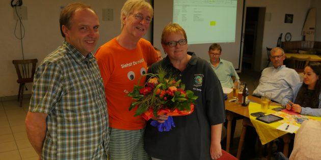 BUZ: Der Vorstand des Kreisjugendring: Werner Hartel, Bruno Ehret, Gudrun Frehse. Foto: oh