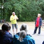 BUZ: Dekan Arno Kreh und DW-Leiterin Irene Finger sprachen über die Zukunft des Bergsträßer Dekanats und die Zukunft der Tafeln. Foto: oh