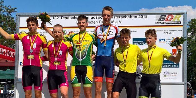 Moritz Czasa ist Deutscher Meister im Radrennsport