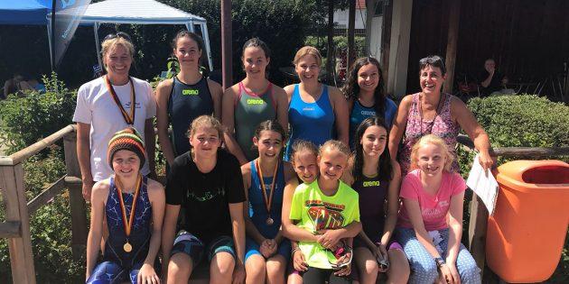 BUZ: Der Wettkampf in Heppenheim hat gezeigt, dass sich das Trainingslager in der letzten Ferienwoche mehr als gelohnt hat. Die Schwimmer der SG Neptun waren sehr erfolgreich. Foto: oh