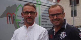 Ein kompetentes Team: Marc Franzisko und Jürgen Leitner (v.l.). Foto: oh