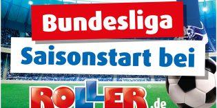 Deutschlands größte Bundesliga-Tabelle exklusiv bei ROLLER