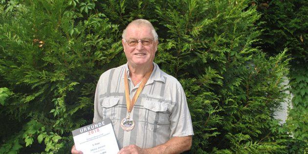 Heinz Janson holt mit starker Leistung Bronze