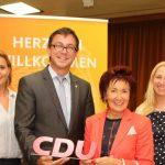 CDU-Mitgliederversammlung im Wahlkampfmodus