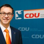 BUZ: Alexander Bauer nutzt viele Wege, um die Wähler zu erreichen und mit Bürgern ins Gespräch zu kommen. Foto: oh