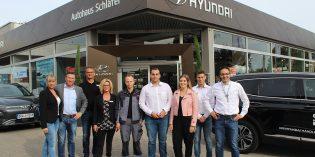 Das kompetenteund Hyundai-erfahrene-Team des Autohauses Schläfer steht den Kunden ab sofortin Bürstadtzur Verfügung. Foto: Eva Wiegand