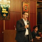 Bürgermeister Felix Kusicka nahm zu vielen Themen Stellung. Foto: Hannelore Nowacki