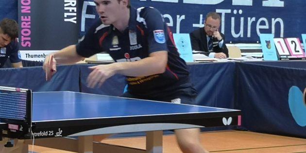 BUZ: Auf seine Punkte zählt der TTC: Alfredas Udra, Nummer zwei im TTC-Bundesligateam. Foto: oh