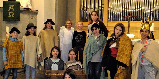 Die jungen Theaterspieler von ZwiBuR. Foto: ehr